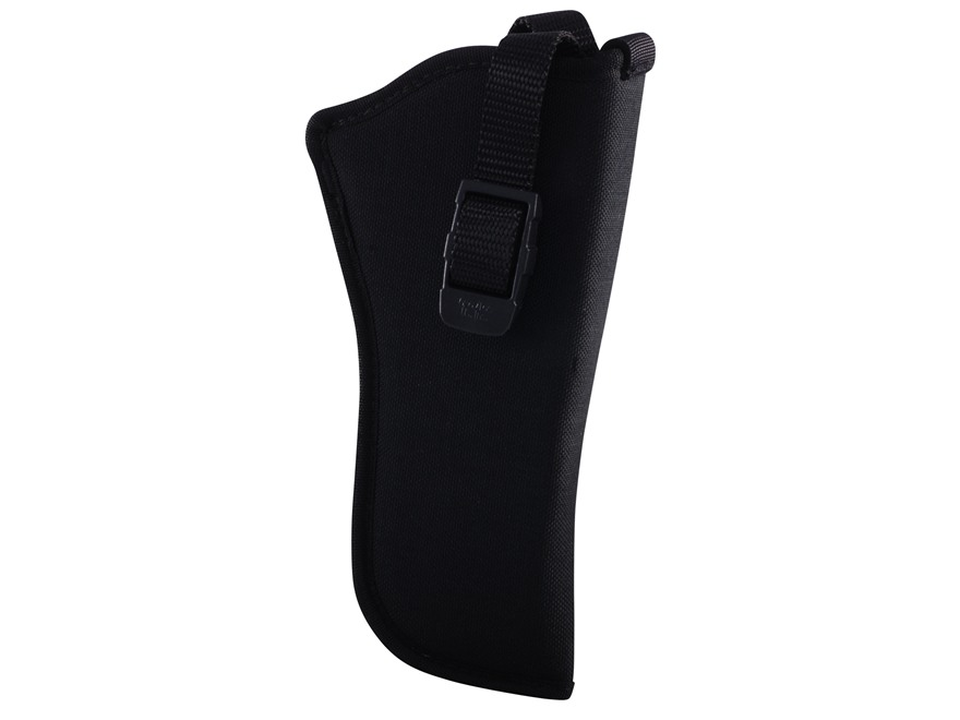 "GrovTec GT Belt Holster Right Hand with Thumb Break Size 7 for 3.5-5"" Barrel Single Action Revolvers Nylon Black"