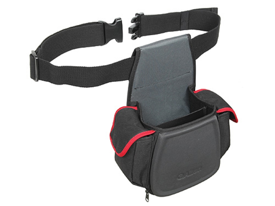 Allen Eliminator Double Compartment Shooting Bag Foam Sheel Gray/Red