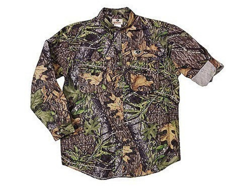 Russell Outdoors Men's Treklite Shirt Long Sleeve Polyester