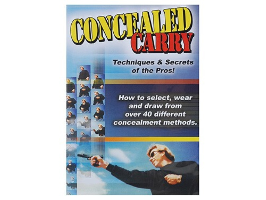 "Gun Video ""Concealed Carry: Techniques & Secrets of the Pros"" DVD"