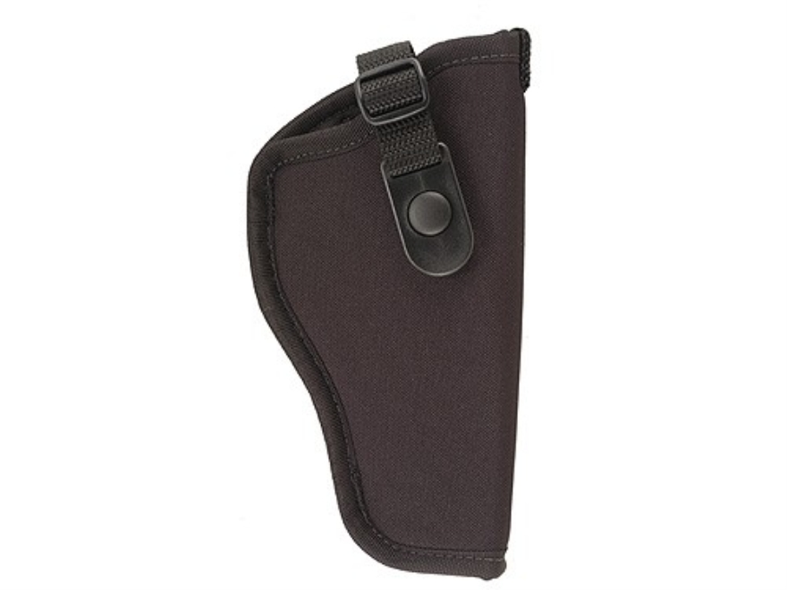"GunMate Hip Holster Right Hand Large Frame Semi-Automatic4"" to 5"" Barrel Tri-Laminate Nylon Black"
