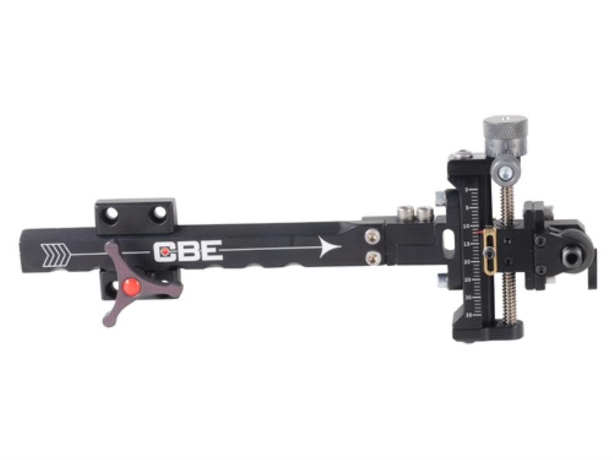 Custom Bow Equipment Elite 3D Adjustable Bow Sight Aluminum Black
