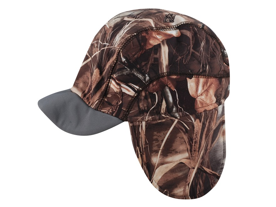 Banded Softshell Brimmed Beanie Polyester Realtree Max-4 Camo