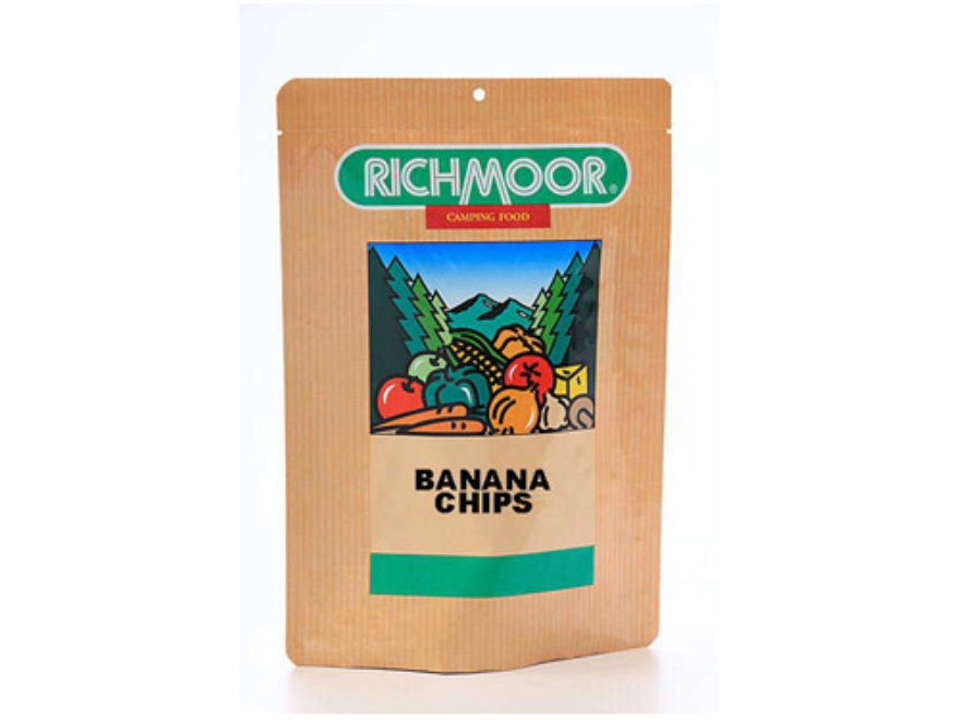 Richmoor Banana Chips Trail Snack Freeze Dried Meal 2.75 oz