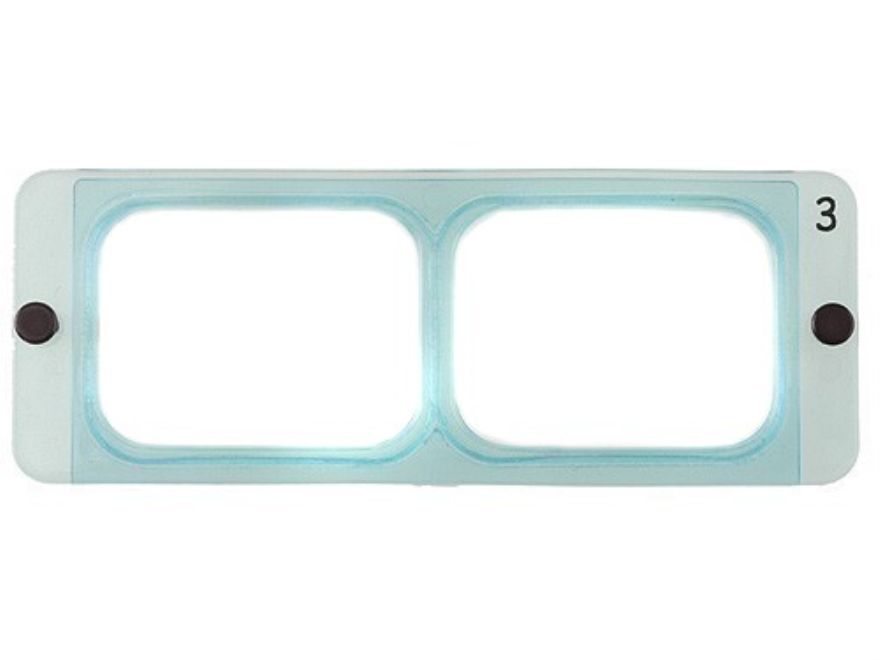 Donegan Optical OptiVISOR Magnifying Headband Visor Replacement Lens Plate 1-3/4X at 14""