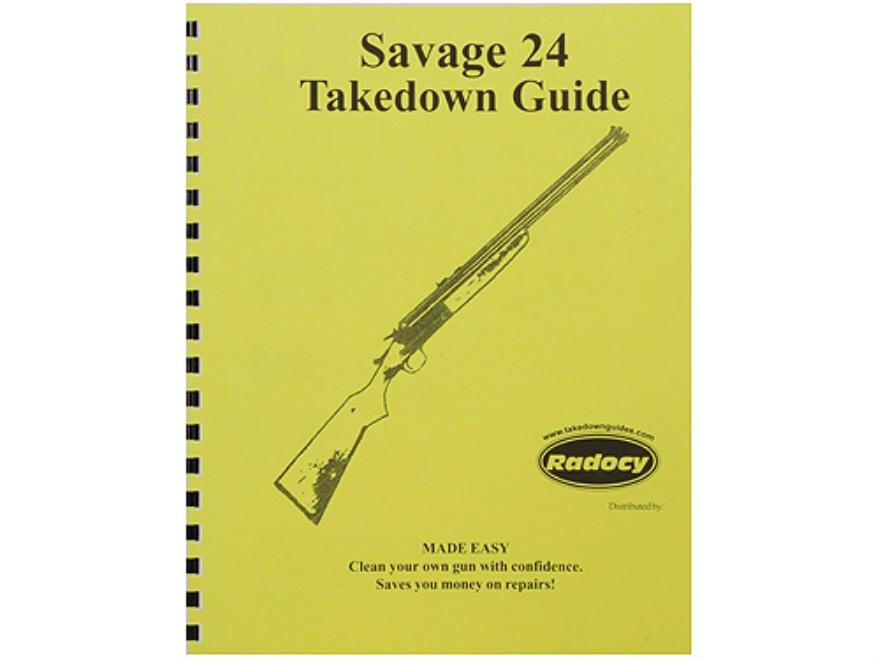 "Radocy Takedown Guide ""Savage 24"""
