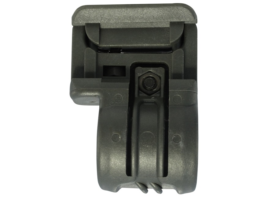 "Command Arms Low Profile Offset Picatinny Rail Flashlight Mount 1"" Ring Diameter AR-15 Polymer"