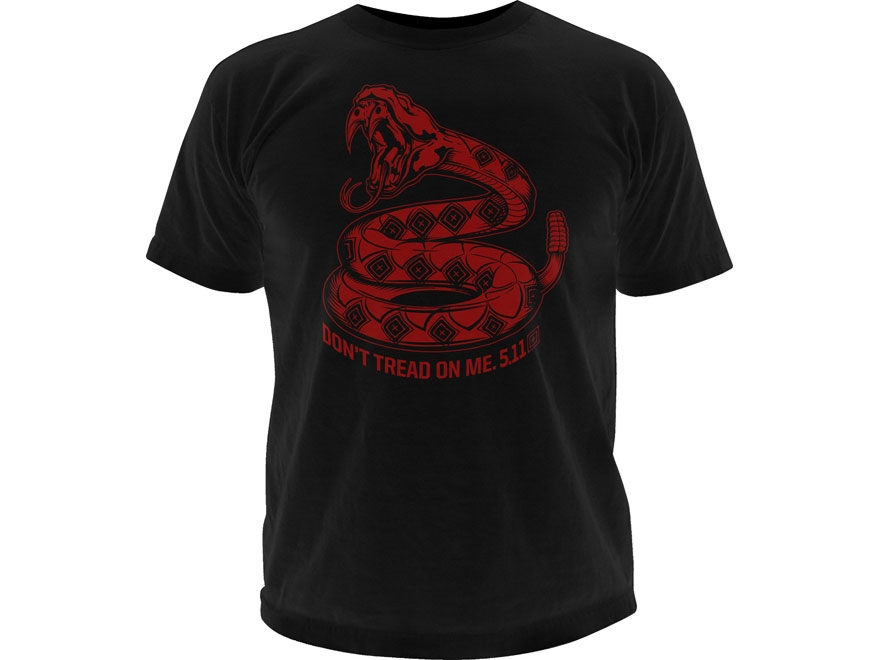 5.11 Men's Don't Tread On Me T-Shirt Short Sleeve Cotton