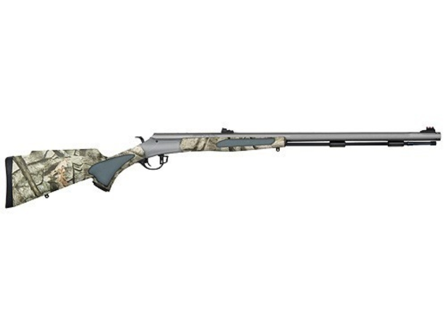"Traditions Vortek Muzzleloading Rifle 50 Caliber Synthetic Stock Mossy Oak Treestand Camo 28"" Stainless Steel Barrel"