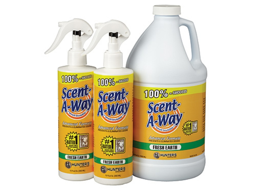 Hunter's Specialties Scent-A-Way Scent Elimination Fresh Earth Value Pack