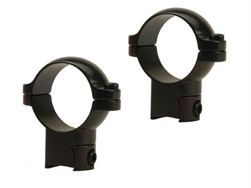 "Leupold 1"" Ring Mounts Rimfire 3/8"" Grooved Receiver Gloss"
