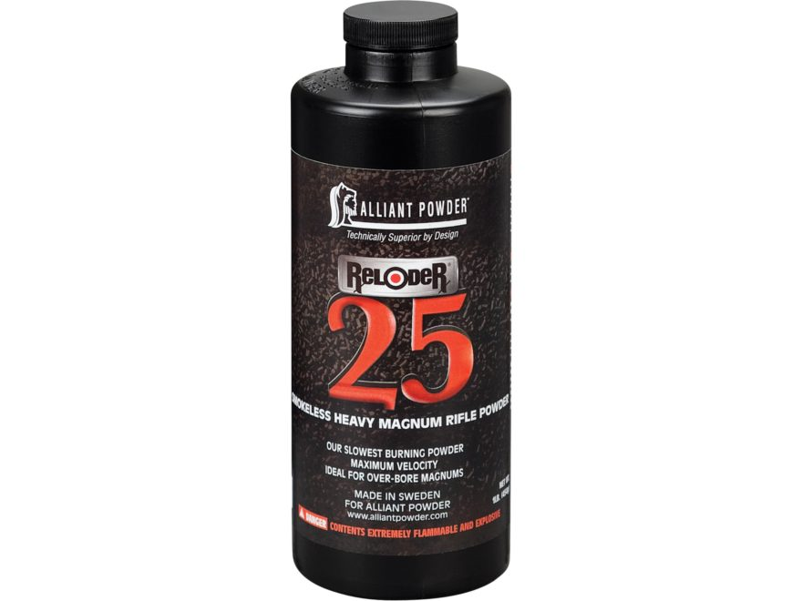 Alliant Reloder 25 Smokeless Powder