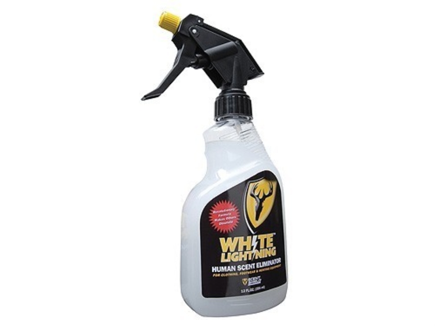Scent Shield White Lightning Scent Eliminator Spray Liquid 12 oz
