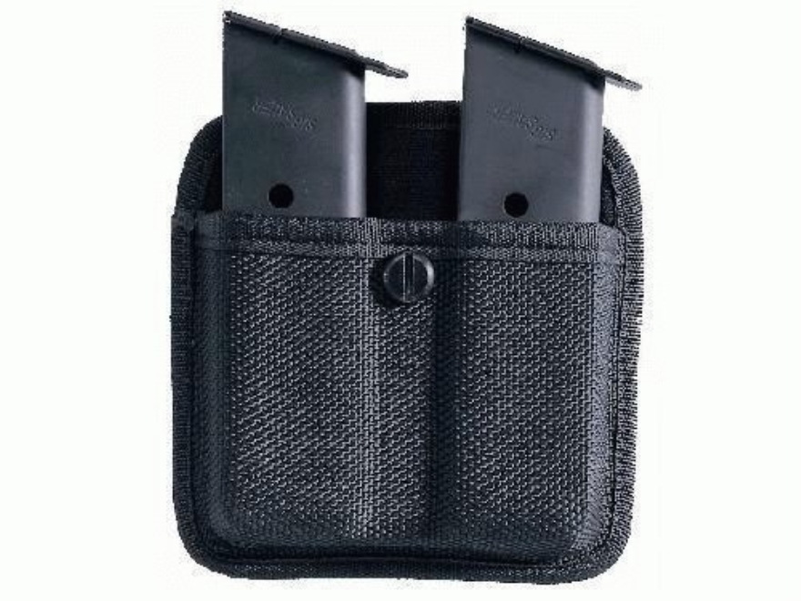 Bianchi 7320 Triple Threat 2 Magazine Pouch 1911, Ruger P90 Nylon Black