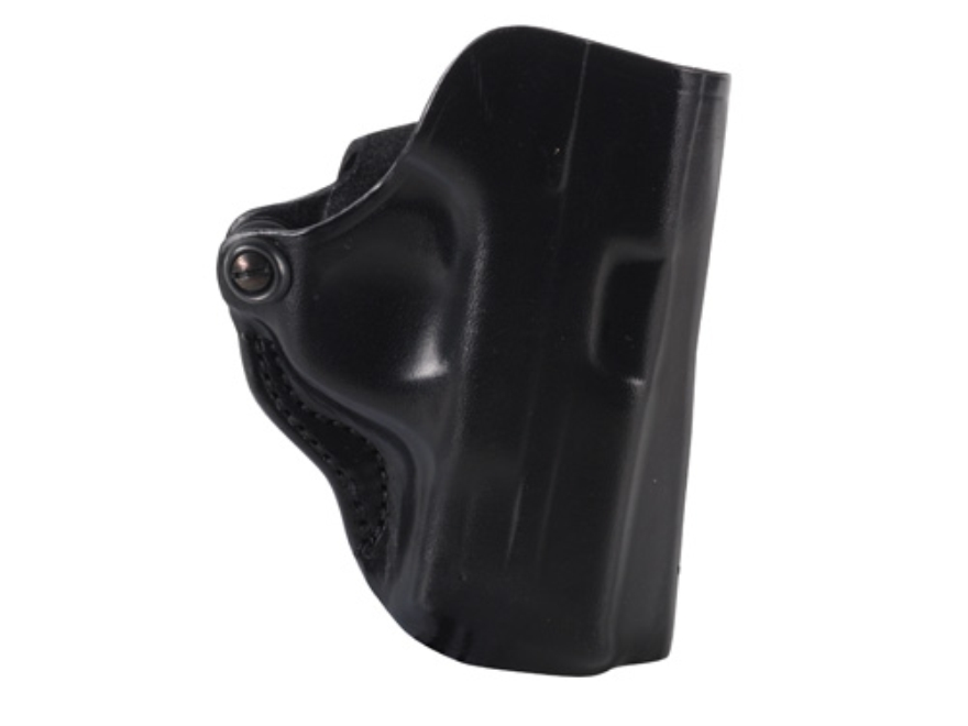 DeSantis Mini Scabbard Belt Holster S&W M&P Compact 9mm, 40 S&W Leather