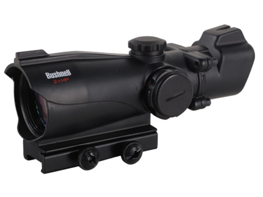 Bushnell MP Red Dot Sight 30mm Tube 2x 32mm 3 MOA Red and Green T Dot Reticle with Integral Weaver-Style Base Matte