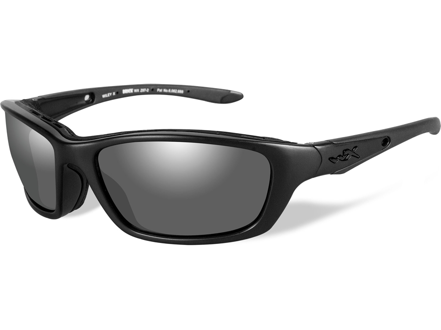 Wiley X Black Ops Brick Sunglasses Smoke Gray Lens
