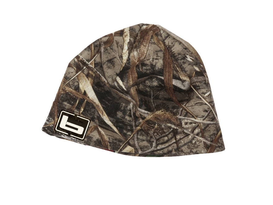 Banded Fleece Beanie Polyester Realtree Max-5 Camo