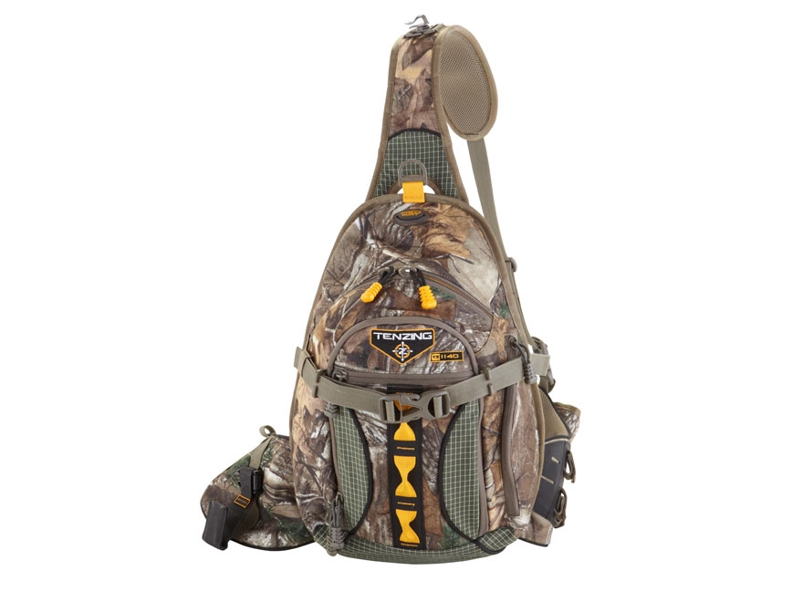 Tenzing TZ 1140 Single Sling Archery Backpack Polyester and Nylon Ripstop Realtree Xtra Camo