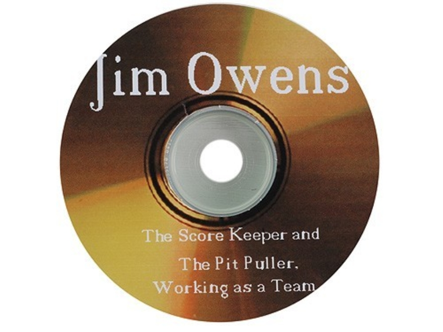 "Jim Owens ""The Score Keep and Pit Puller, Working as a Team"" CD-ROM"