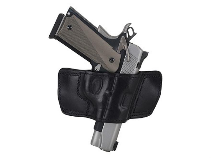 Ross Leather Belt Slide Holster Right Hand Glock 17, 22, 31 Leather Black