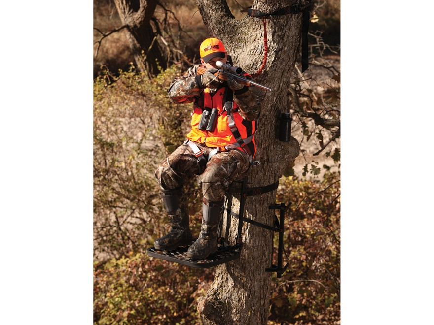 Big Game The Horizon Hang On Treestand Steel Black