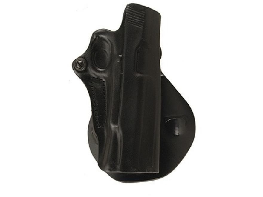 DeSantis Top Cop Paddle Holster 1911 Government Leather Black