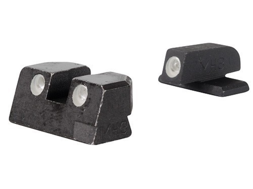 Meprolight Tru-Dot Sight Set Springfield XD 45 ACP Steel Blue Tritium Green Front
