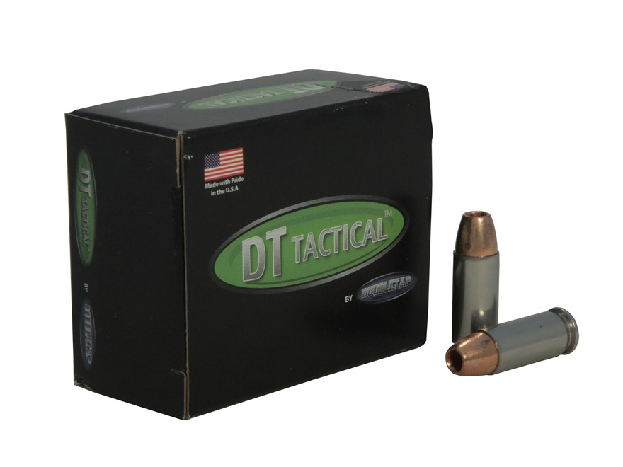 Doubletap Ammunition 38 Super +P 115 Grain Barnes TAC-XP Hollow Point Lead-Free Box of 20