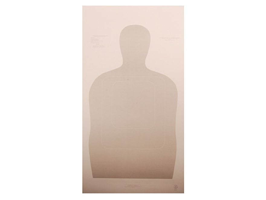 NRA Official Training and Qualification Targets Law Enforcement TQ-15 25-Yard Paper Package of 100