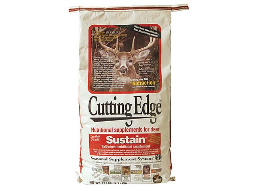 Whitetail Institute Cutting Edge Sustain Deer Supplement Granular 17 lb