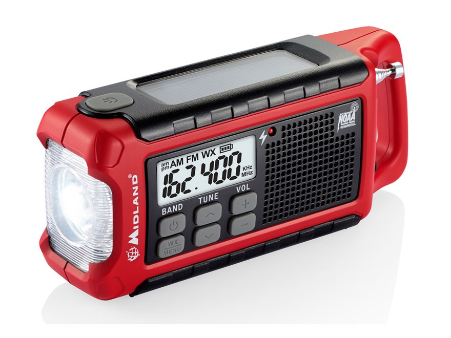 Midland ER200 Emergency Crank Weather Alert Radio