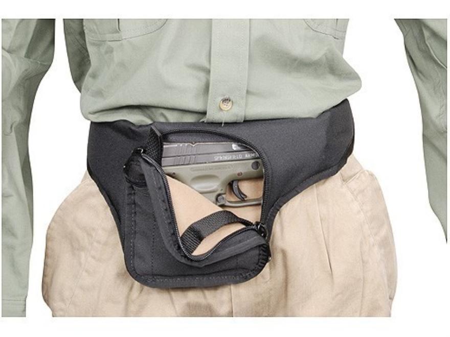 Soft Armor Merlin Fanny Pack Medium to Large Frame Semi Automatics Nylon Black