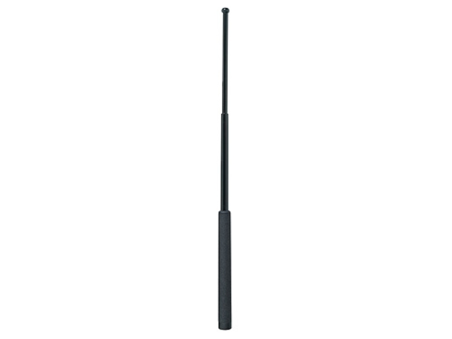 "ASP Friction Loc Baton 26"" Expandable 4140 Steel Shaft Black Chrome Finish Dura Tec Grip Black"