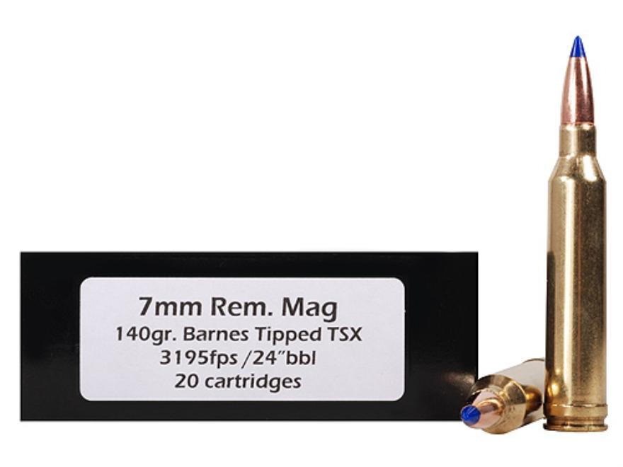Doubletap Ammunition 7mm Remington Magnum 140 Grain Barnes Tipped Triple-Shock X Bullet...