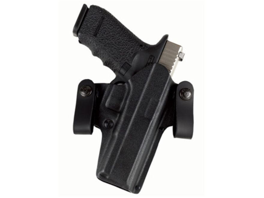 Galco DOUBLE TIME Convertible Belt and Inside the Waistband Holster Right Hand Glock 26, 27, 33 Kydex Black