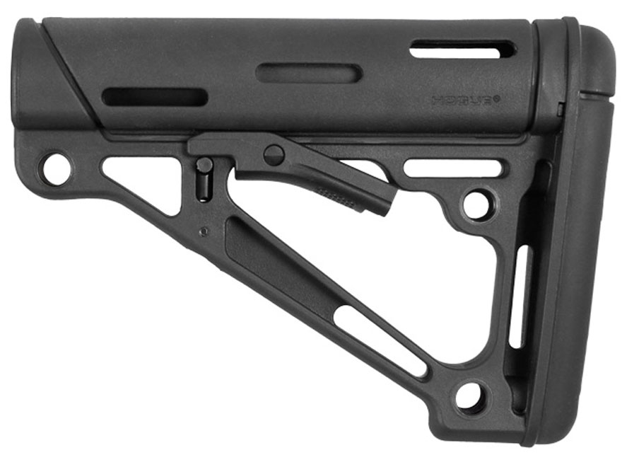 Hogue Overmolded Collapsible Stock Ar 15 Lr 308