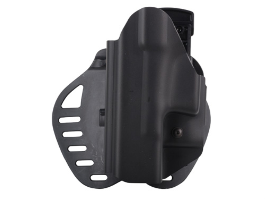 Hogue PowerSpeed Concealed Carry Holster Outside the Waistband (OWB) Glock 19, 23, 32, 39 Black