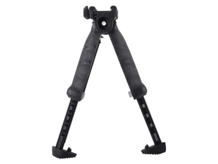 FAB Defense T-Pod Vertical Forend Grip with Rotating Bipod Quick Release Mount Polymer ...