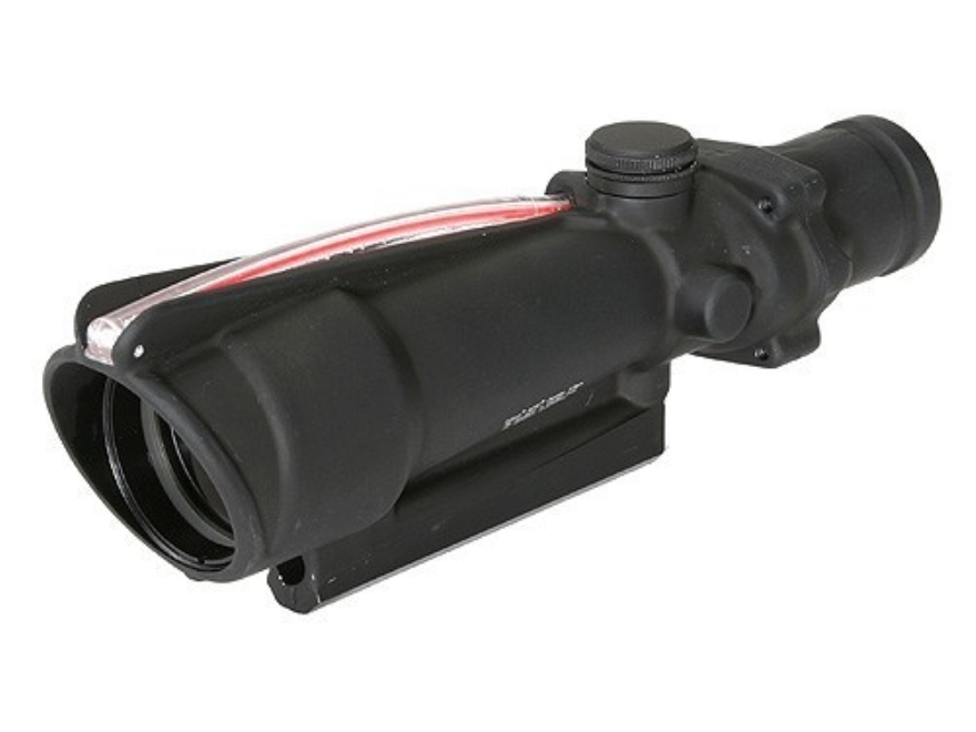 Trijicon ACOG TA11 BAC Rifle Scope 3.5x 35mm Dual-Illuminated Red Horseshoe Dot 308 Winchester Reticle with TA51 Flattop Mount Matte