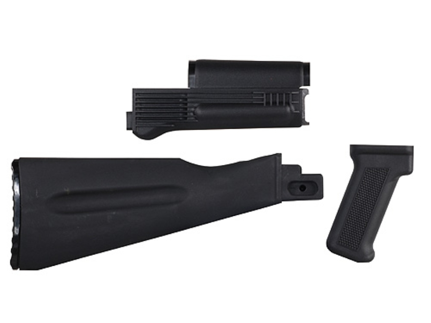 Arsenal, Inc. Complete Buttstock and Handguard Set Warsaw Pact Length AK-47, AK-74 Stam...