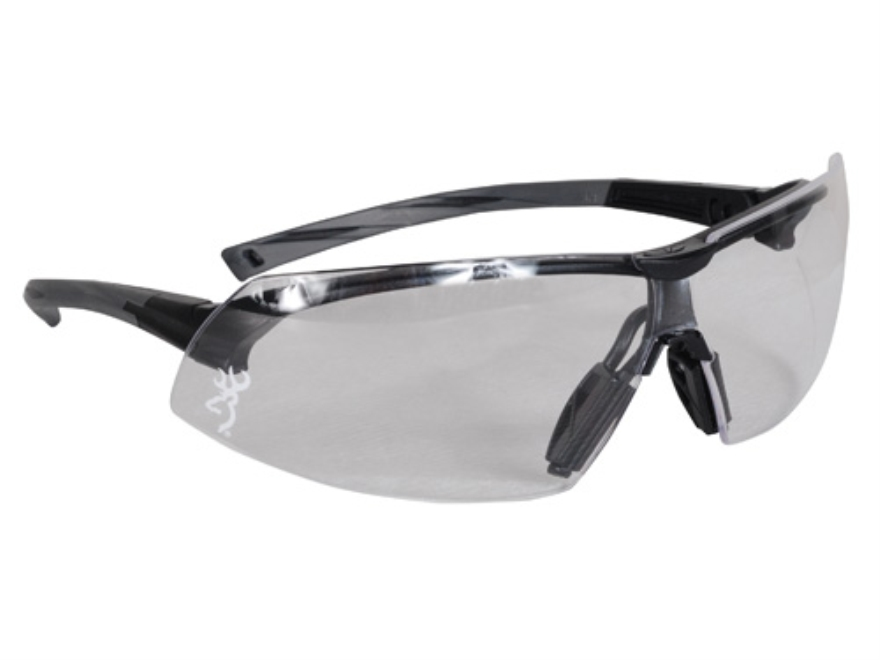 Browning Buckmark Shooting Glasses Black Frame Clear Lens