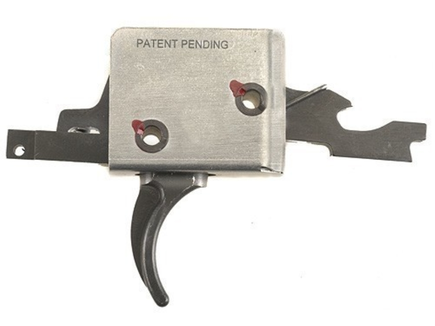 """Chip McCormick Super Match Trigger Group AR-15 Small Pin .154"""" Curved Single Stage Matte"""