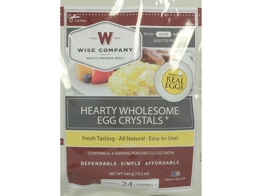 Wise Food Stocking Up Dried Real Eggs 24 Serving Package