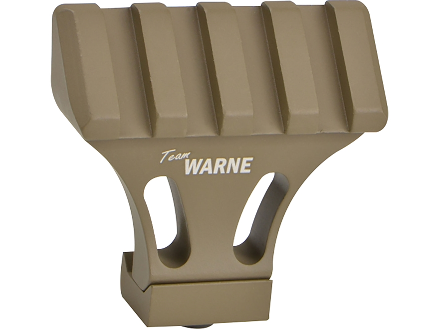 Warne 45 Degree Offset Picatinny Side Mount Adapter Aluminum