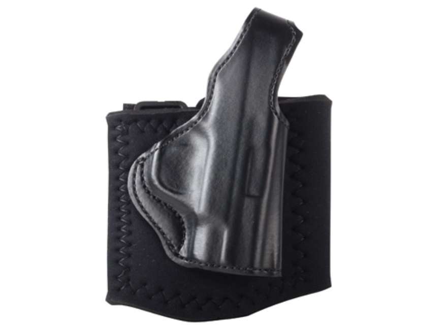 DeSantis Die Hard Ankle Holster S&W M&P Shield Leather Black