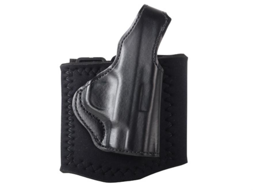 DeSantis Die Hard Ankle Holster S&W M&P Shield Leather Black