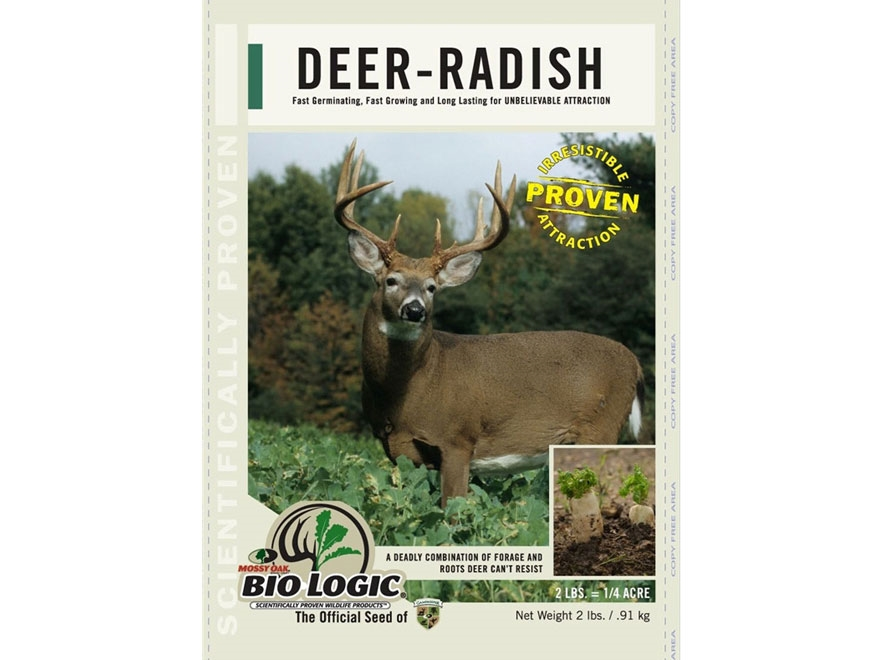 Biologic Deer Radish Annual Food Plot Seed
