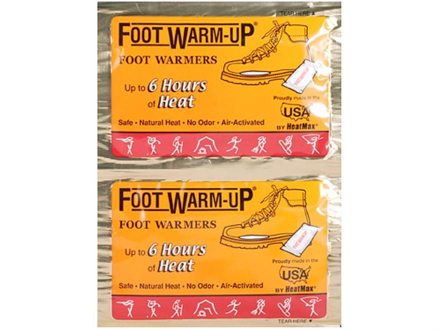 HeatMax The Foot Warmup Footwarmers