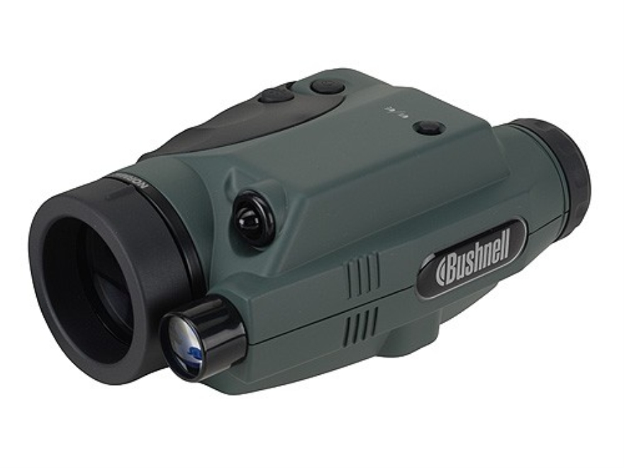 Bushnell Monocular 1st Generation Night Vision 2.5x 42mm Dual Infrared Illumination Gre...